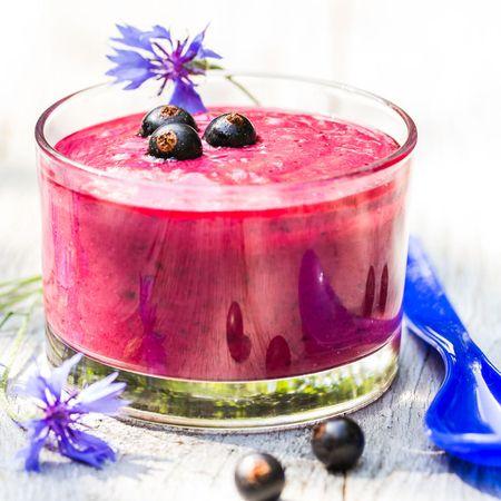 Schnelle Low Carb Frucht-Joghurt-Creme