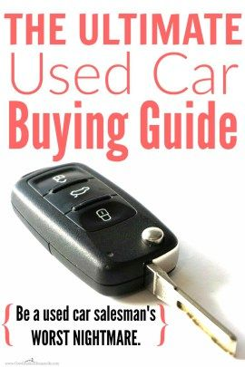 Don't buy a car without reading this! She covers everything you need to do before buying a used car. You'll never buy a lemon or a…