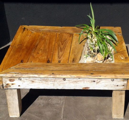 Driftwood Living Table