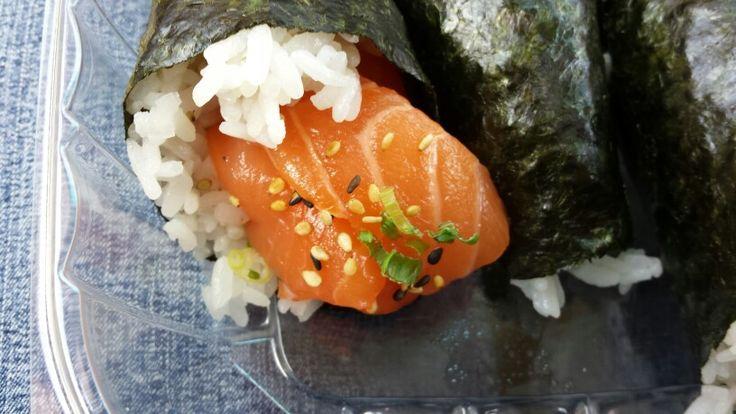 Salmon handroll kabuki cary, nc