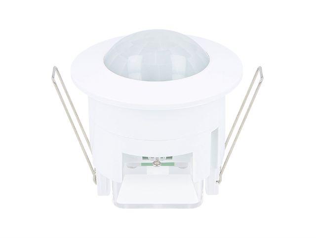 YPHIX LED bewegingsmelder, plafond inbouw, detectiehoek 360°, IP20