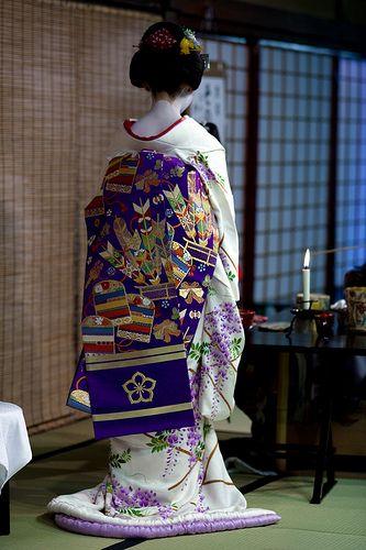 Tea ceremony of Miyako Odori #16