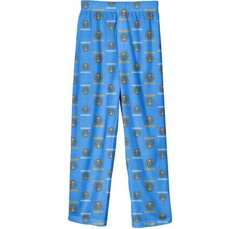 NBA Youth Denver Nuggets Logo Pajama Pants, Size: Medium, Team