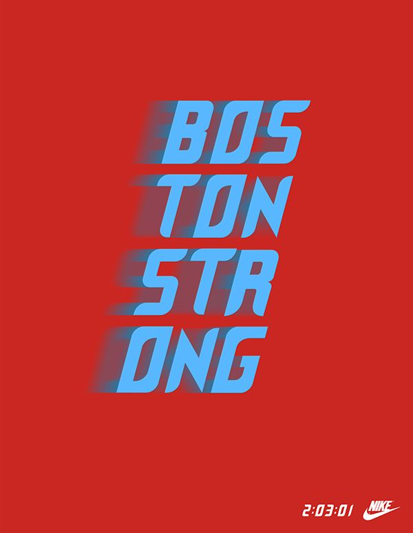Boston Strong Sneaker on Behance