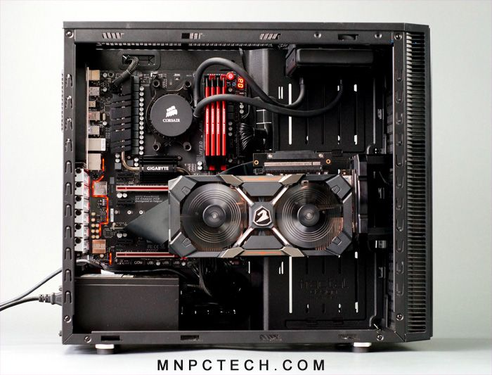 Mnpctech Stage 2 Vertical Video Card Gpu Mounting Bracket Video Card Custom Computer Computer Diy