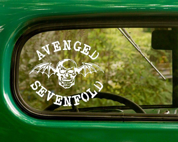Avenged Sevenfold Band Decals Sticker