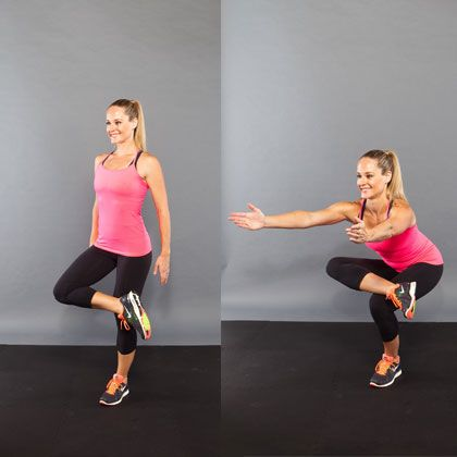 12 Ways to Spice Up Your Squats for Better Results: Fit Workout, Figure Four Squats, Fitness Workouts, Squats Variations, Exerci, Figurefour Squats, Shape Magazines, Spices, Figures Four Squats