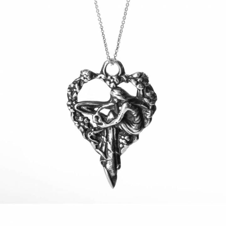 Maiden Of the Heart - Pendant - Valentines comp entry image
