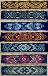Taniko patterns
