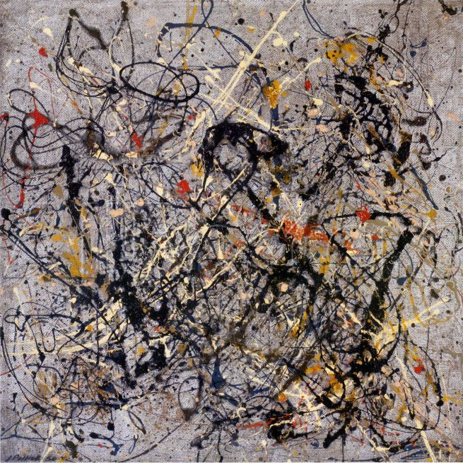 Jackson Pollock,Number 18, 1950
