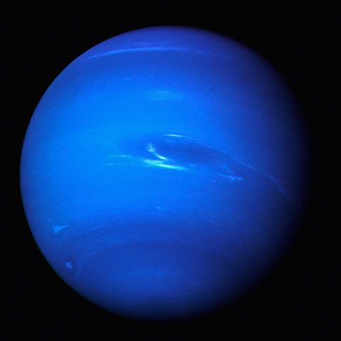 In 1989, Voyager 2 made our first close encounter with the stunning blue planet Neptune. Its surprisingly turbulent, storm-laden atmosphere, this far from the sun, was clearly being driven by heat from deep within the planet