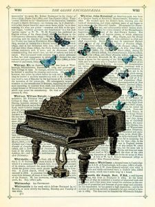Piano and Butterflies Marion McConaghie
