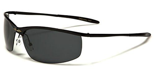 (10 pund, før 30 pund) X-Loop polarized men women sunglasses Semi rimless slim style Perfect for all kinds of for sports like cycling running or driving Full UV400 Protection Beach Hut Sunglasses microfibre pouch included (glossy black/black lenses) X-Loop http://www.amazon.co.uk/dp/B01AM59QWA/ref=cm_sw_r_pi_dp_xzE1wb0N0B7P6
