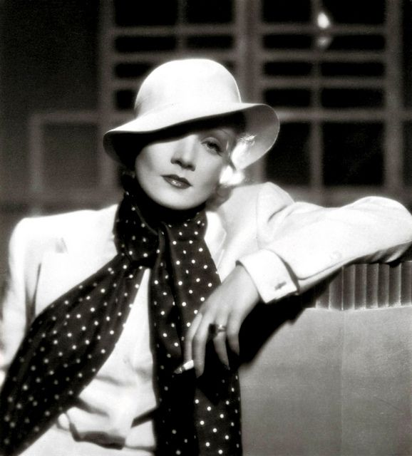 Marlene Dietrich ~ the beginning and end of that sentence