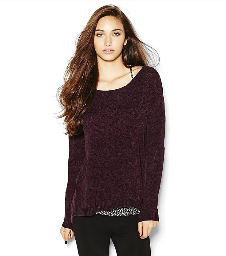 Chenille Slouchy Oversized Sweater.