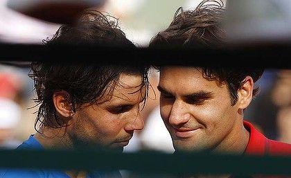 Fedal bromance, still a better love story than twilight #tennisaddict
