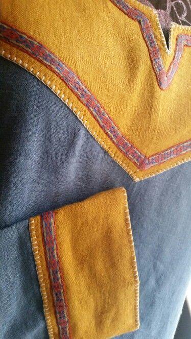 Image result for viking tunic trim