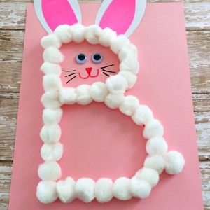 Letter of the Week Crafts: B is for Bunny