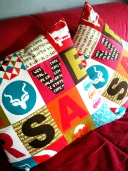- Store: Mr Price Home  - Price: R99  RSA Cushions from Mr Price Home