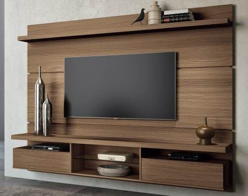 painel home theater suspenso livin 2.2 machiato hb móveis