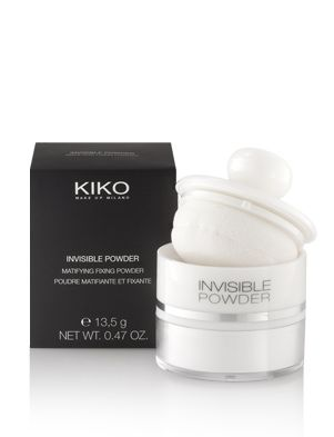 KIKO - KIKO MAKE UP MILANO: Invisible Powder: polvos fijadores antibrillos transparentes