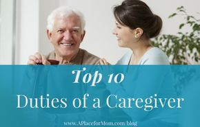 Thinking of becoming a caregiver? Here a list of duties for caregivers from creating a care plan to assisting with basic needs. #elderlycareinspiration