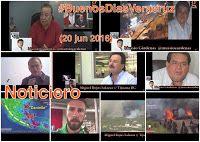 BUENOS DÍAS VERACRUZ: NOTICIERO y VIDEO COLUMNA - 20 junio 2016- #BUENOS...