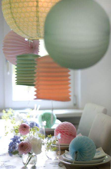 wunderschön-gemacht: lampions mit schmetterlingen