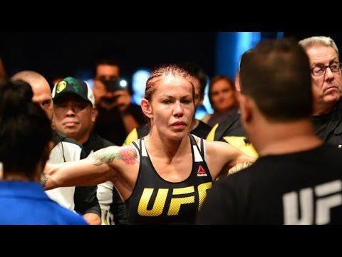 Cristiane 'Cyborg' Justino punches Angela Magaña at UFC retreat