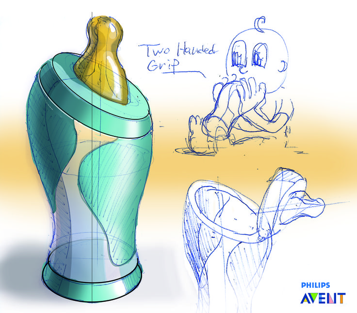 avent-case-study2 #id #industrial #design #product #sketch