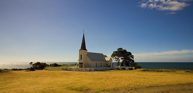 The Anglican Church at, Raukokore, see more at New Zealand Journeys app for iPad www.gopix.co.nz