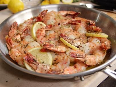 Roasted Shrimp with Garlic and Lemon