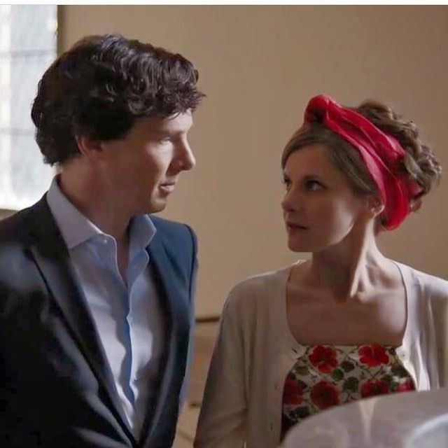 Sherlock and Molly. Sherlock Season 4.