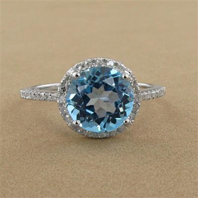 Carribean Blue Diamond