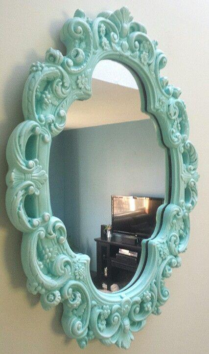 Teal Mirror