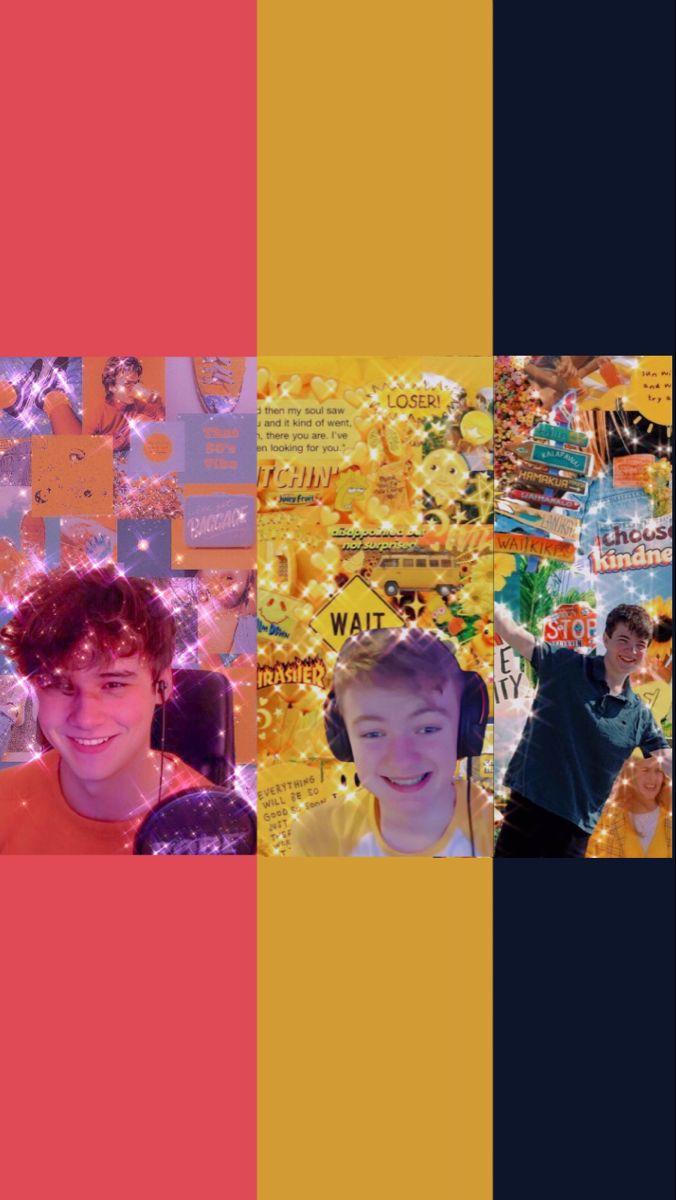 Wilbur Tommy And Tubbo Wallpaper Mc Wallpaper Team Wallpaper My Dream Team