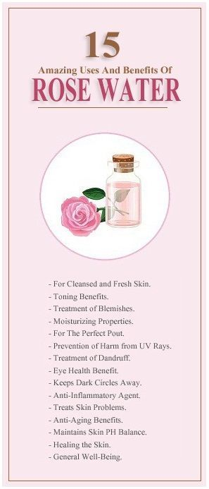 15 Amazing Uses And Benefits Of Rose Water.