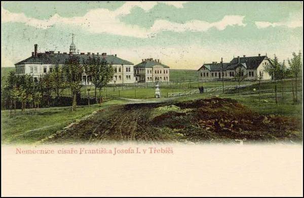Třebíč - nemocnice (1904)