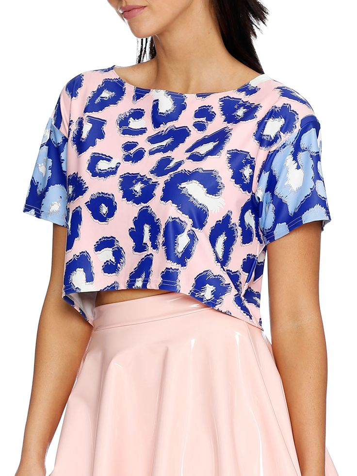 I've Been Spotted Boxy Crop - LIMITED (AU $65AUD / US $45USD) by Black Milk Clothing
