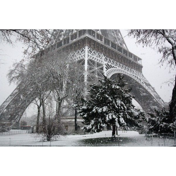 Wordless Wednesday or Snow in Paris Yesterday! ❤ liked on Polyvore featuring backgrounds, pictures, paris, winter, photos, detail and embellishment