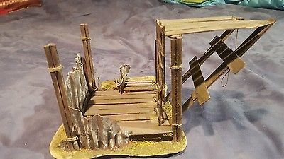 Wargaming Terrain Gallows X1 *Warhammer 40k, Warmachine, ect.