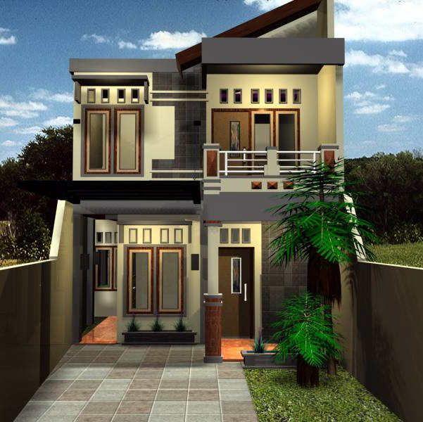 Conth Gambar Rumah Sederhana Minimalis 2 Lantai Modern Minimalist House Minimalist House Design Minimalist Home