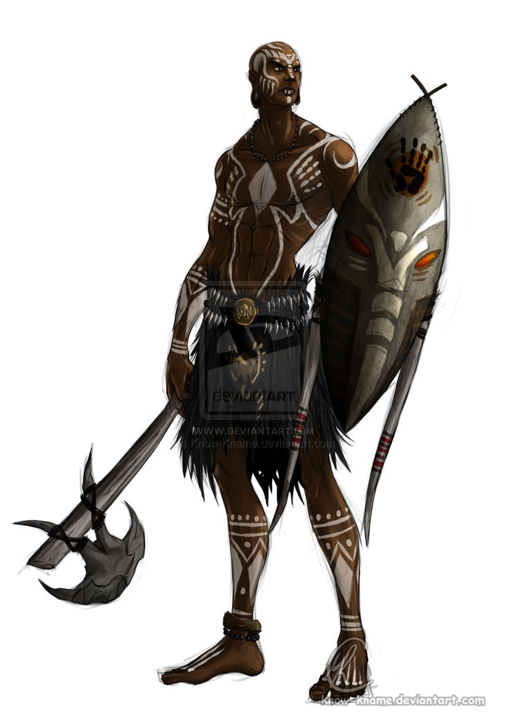 african warrior - Google Search