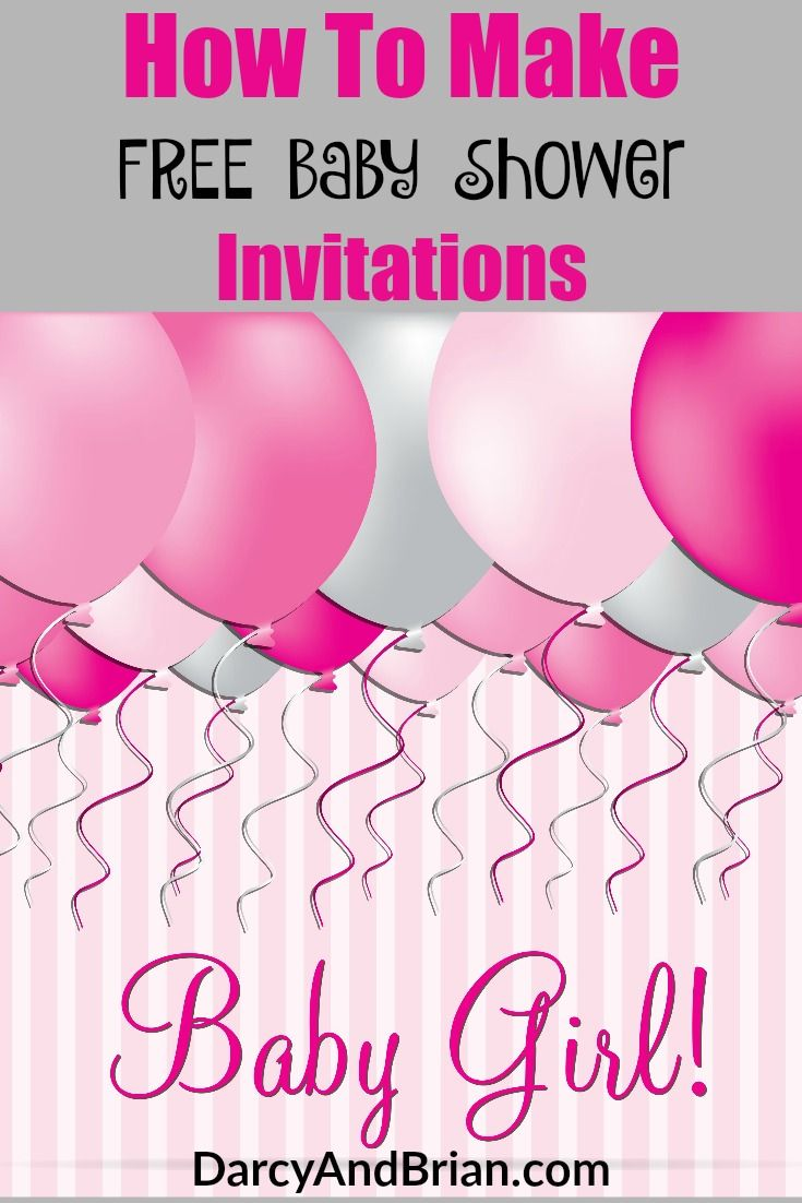 1000 ideas about free baby shower invitations on. Black Bedroom Furniture Sets. Home Design Ideas