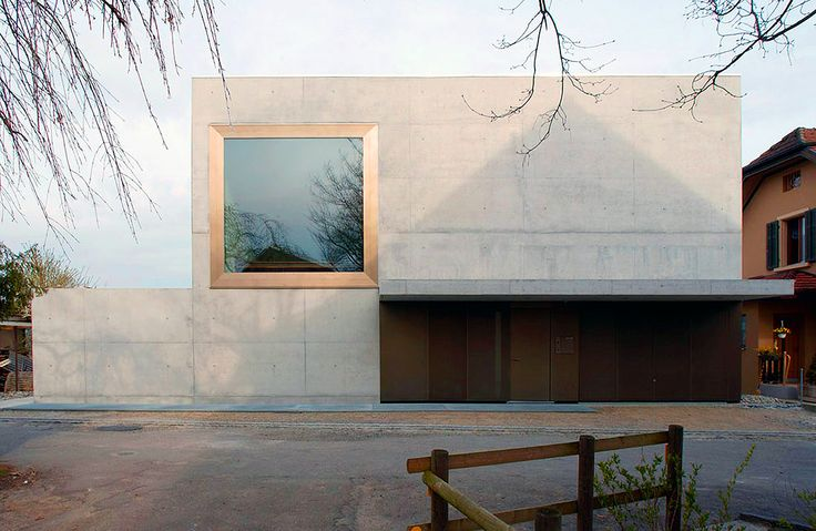 Liechti Graf Zumsteg - House on a river,Windisch 2001.