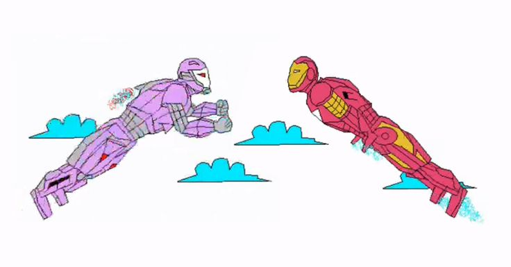 LilyRayme is really good at making animations with Microsoft Paint and Movie Maker. He Made Iron Man Animation In MS Paint And It Looks Awesome.