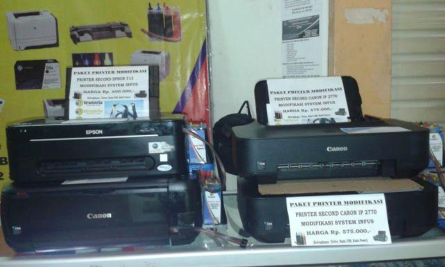 refill tinta & toner printer inkjet laserjet Canon,Hp,Epson,Brather,Samsung,Panasonik,Xerox: READY PRINTER SECON SIAP PAKAI FOR CANON IP 2770, ...