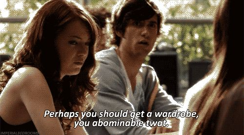 I can't even express my love for this movie. Love the cast and LOVE the hilarity of it. Easy A... gets an A!