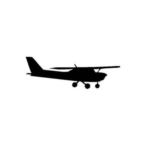 Amazon.com: CESSNA 150 Silhouette VINYL sticker/decal (Flyong,Pilot): Everything Else