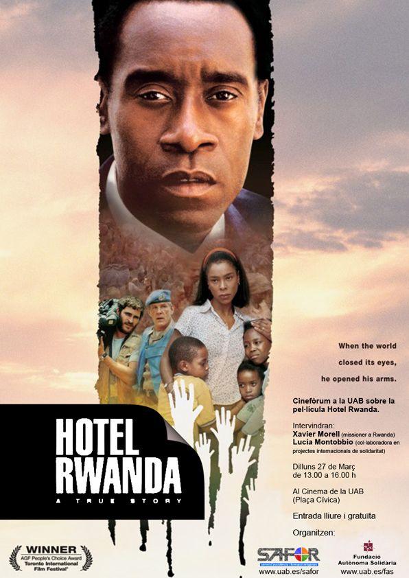 Hotel Rwanda ホテル・ルワンダ (2004 UK, Ital...  South A